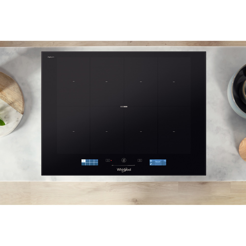 Whirlpool SmartCook SMP 658C/BT/IXL Induction Hob 4 Zones 60cm - Black