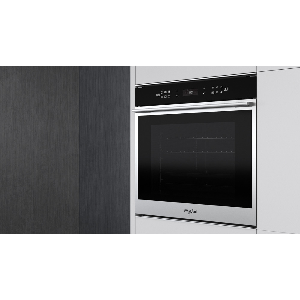 Whirlpool W Collection W7 OS4 4S1 P Built-In Electric Single Oven - Stainless Steel