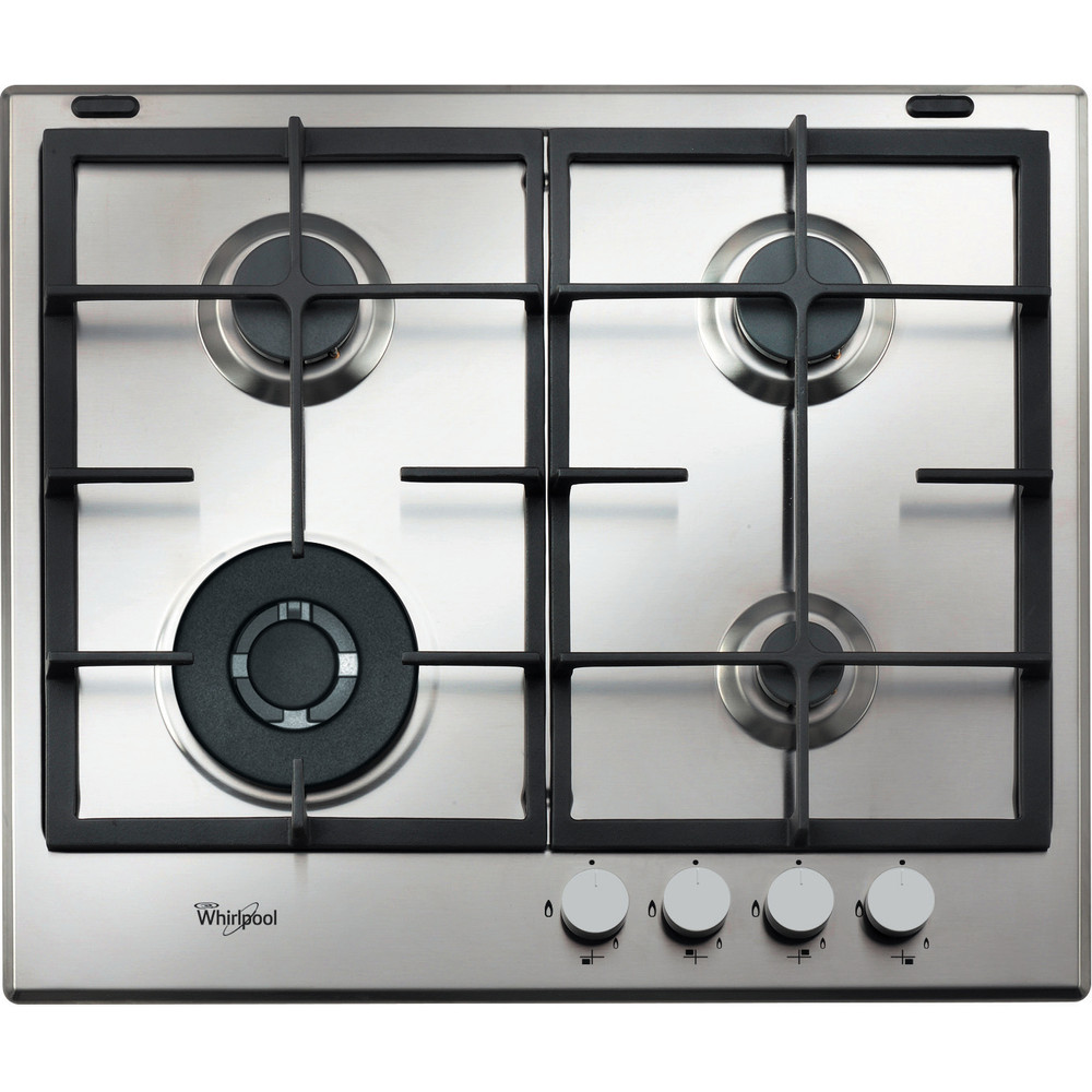 Whirlpool GMA 6422IX Hob 4 Burners 60cm - Stainless Steel