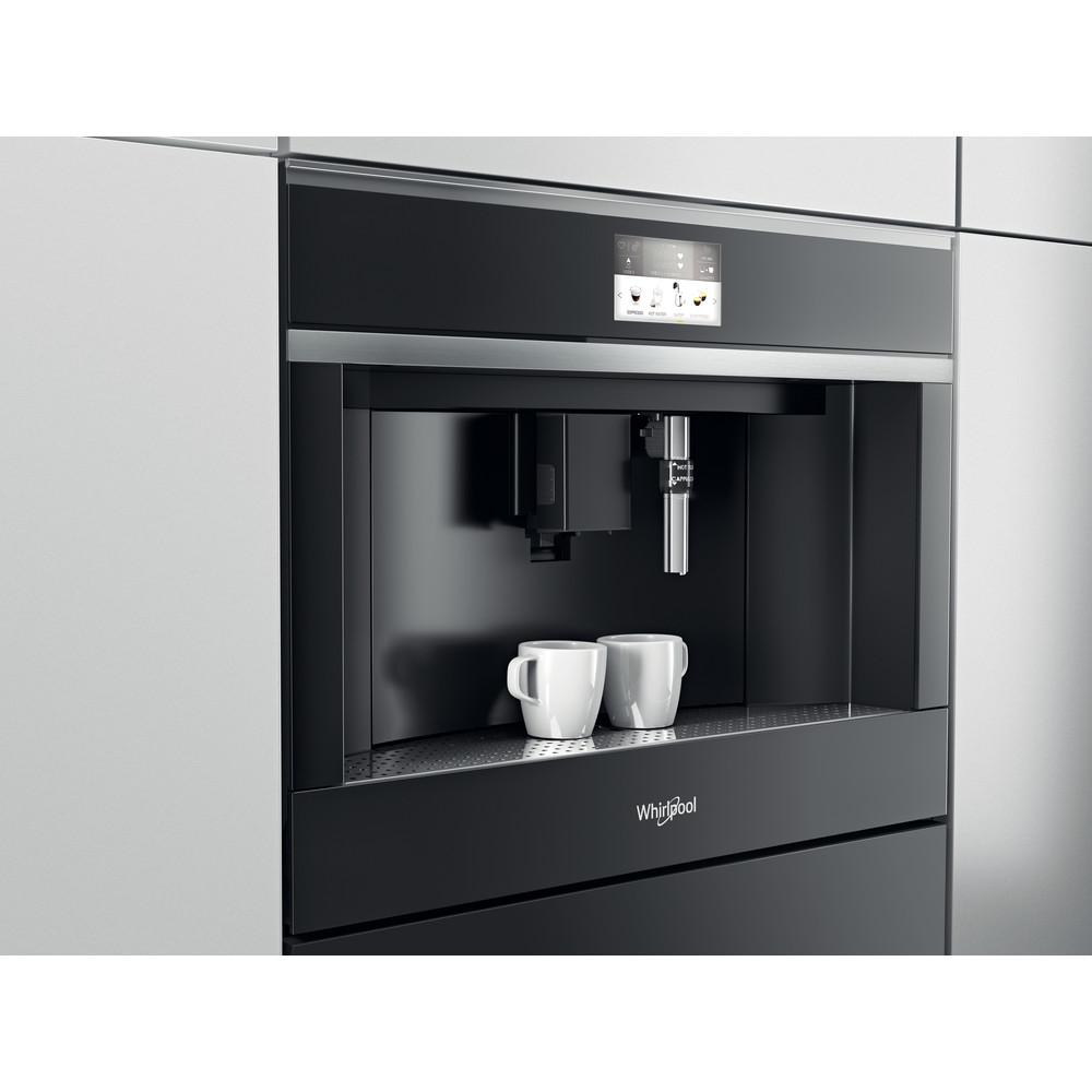Whirlpool W Collection W11 CM145 Coffee Machine - Dark Grey