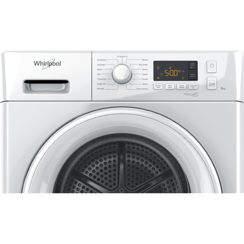 Whirlpool FT M11 82 UK Heat Pump Tumble Dryer A++ 8kg - White