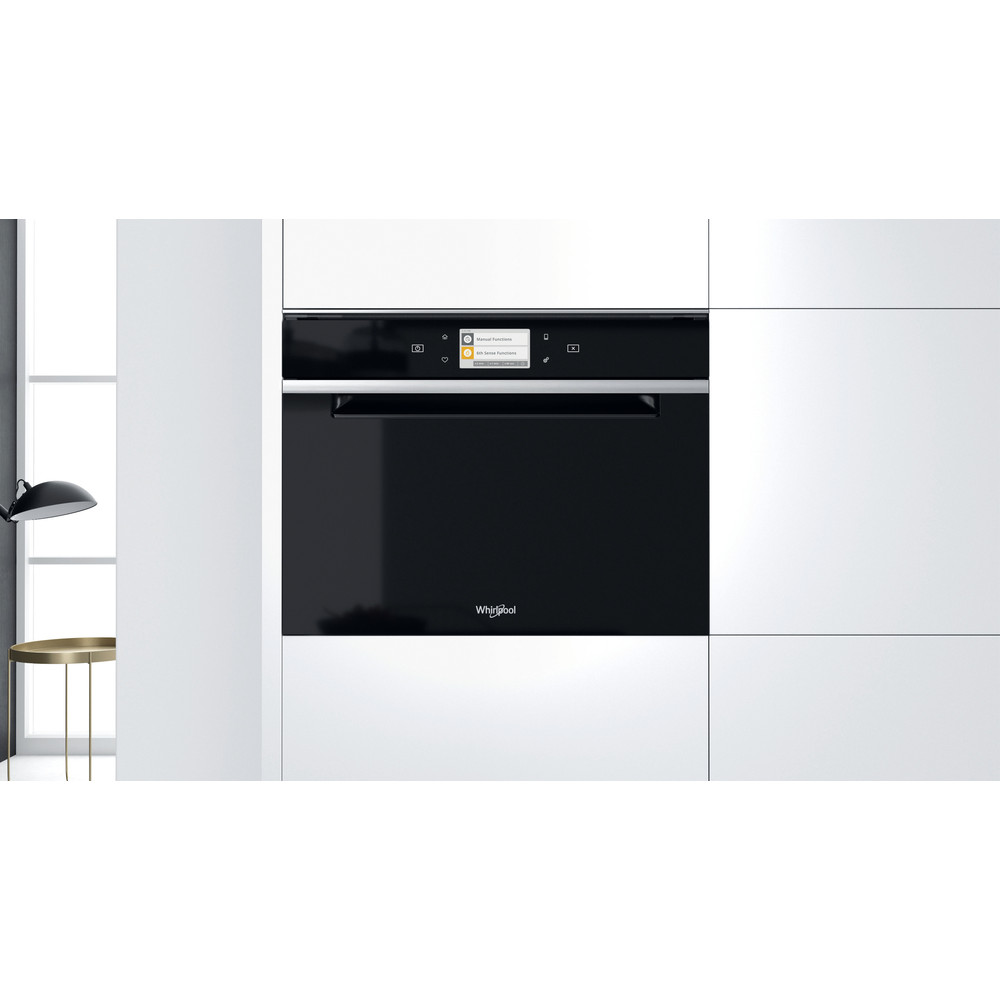 Whirlpool W Collection W11I MW161 UK Built-In Microwave Oven - Dark Grey