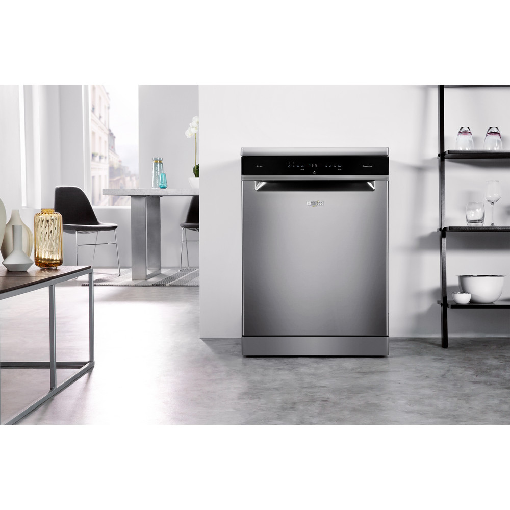 Whirlpool SupremeClean WFO 3P33 DL X Dishwasher A+++ 14 place - Stainless Steel