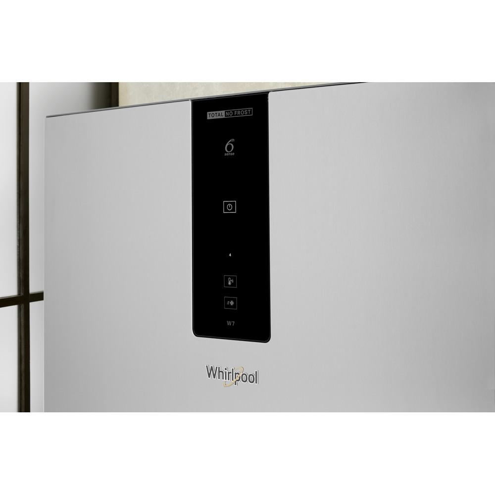Whirlpool W7 811O OX H 1 Fridge Freezer Frost Free 338L - Optic Inox