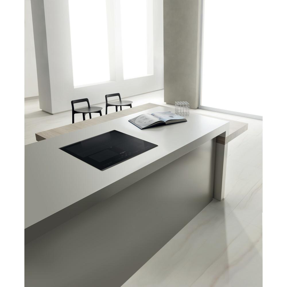 Whirlpool induction glass-ceramic hob - SMO 654 OF/BT/IXL