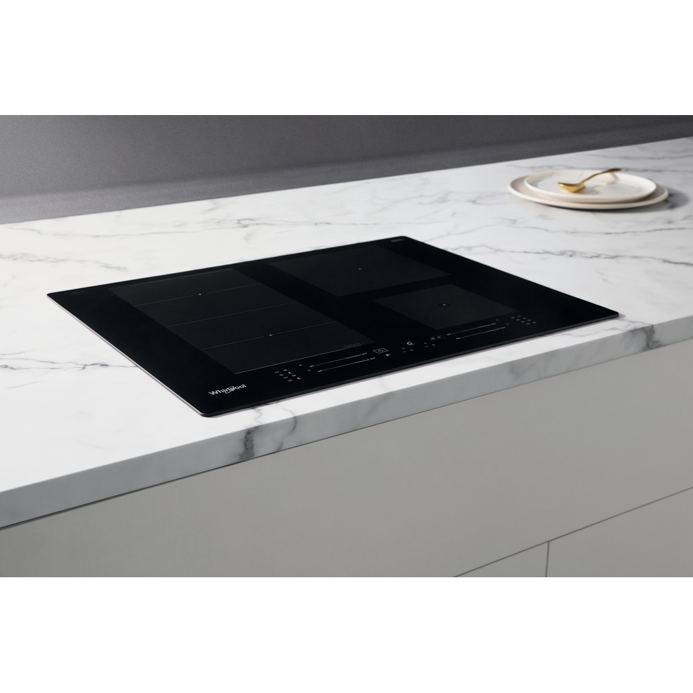 Whirlpool WF S0160 NE Induction Hob 4 Zones 60cm - Black