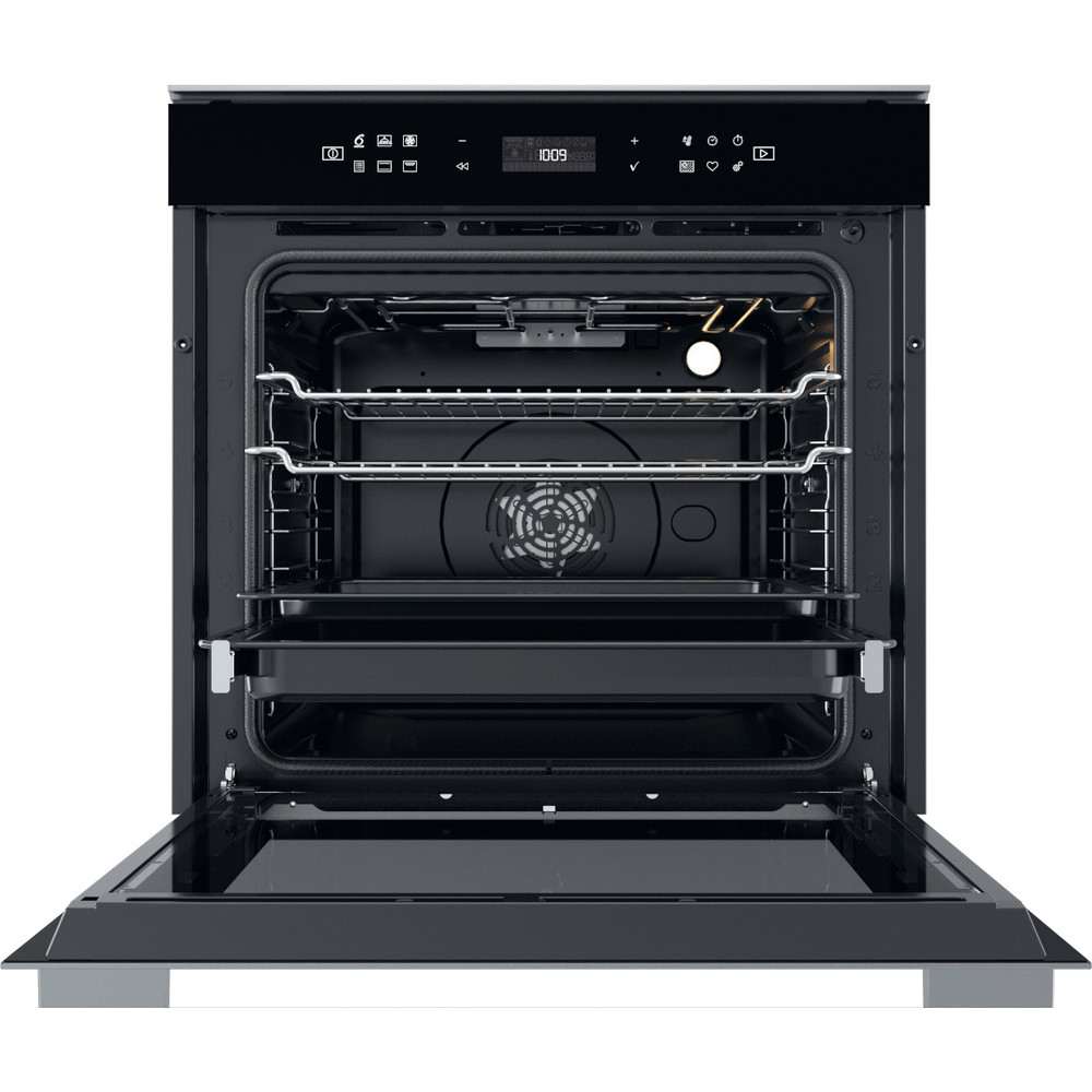 Whirlpool built in electric oven: in Stainless Steel, self cleaning - W7 OM4 4S1 P