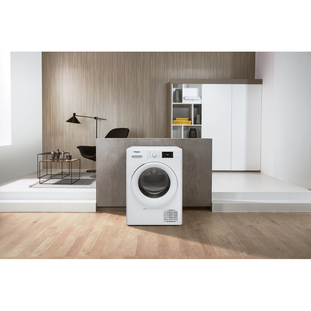 Whirlpool FT M22 9X2 UK Heat Pump Tumble Dryer A++ 9kg - White