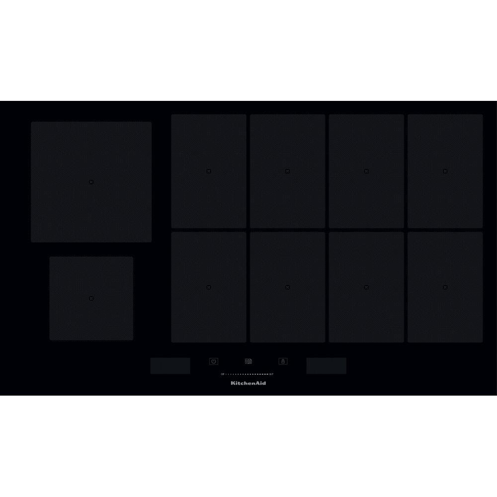 design de qualité 64649 931fe Table de cuisson à induction de 90 cm, installation à fleur ...