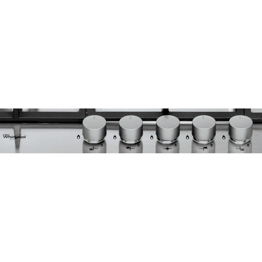 Whirlpool GMA 7522IX Hob 5 Burners 75cm - Stainless Steel