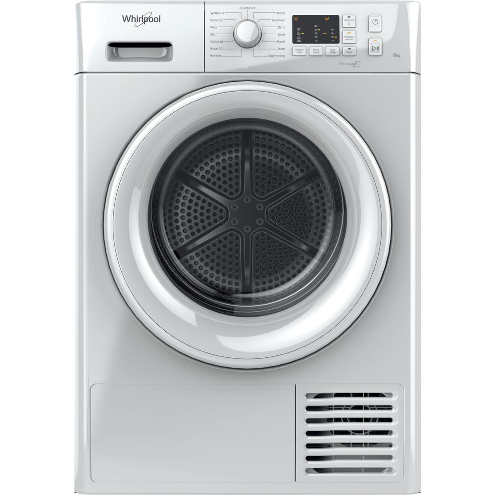 FTCM108B Whirlpool Condenser Tumble Dryer: Freestanding, 8kg - FT CM10 8B UK