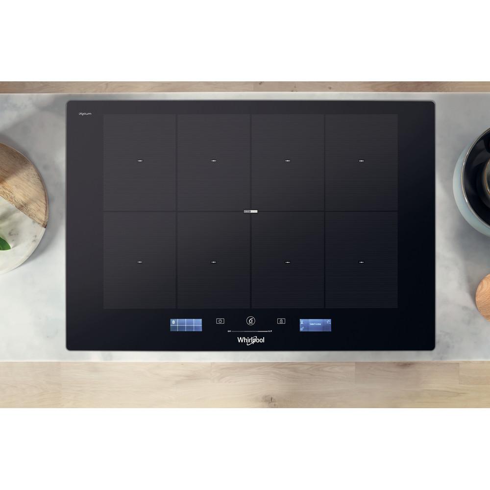 Whirlpool SmartCook SMP 778 C/NE/IXL Induction Hob 8 Zone 75cm - Black