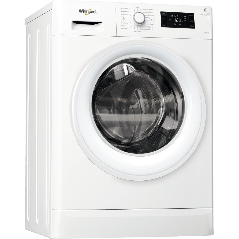 FWDG86148W Whirlpool FWDG86148W Washer Dryer 8+6kg 1400rpm - White