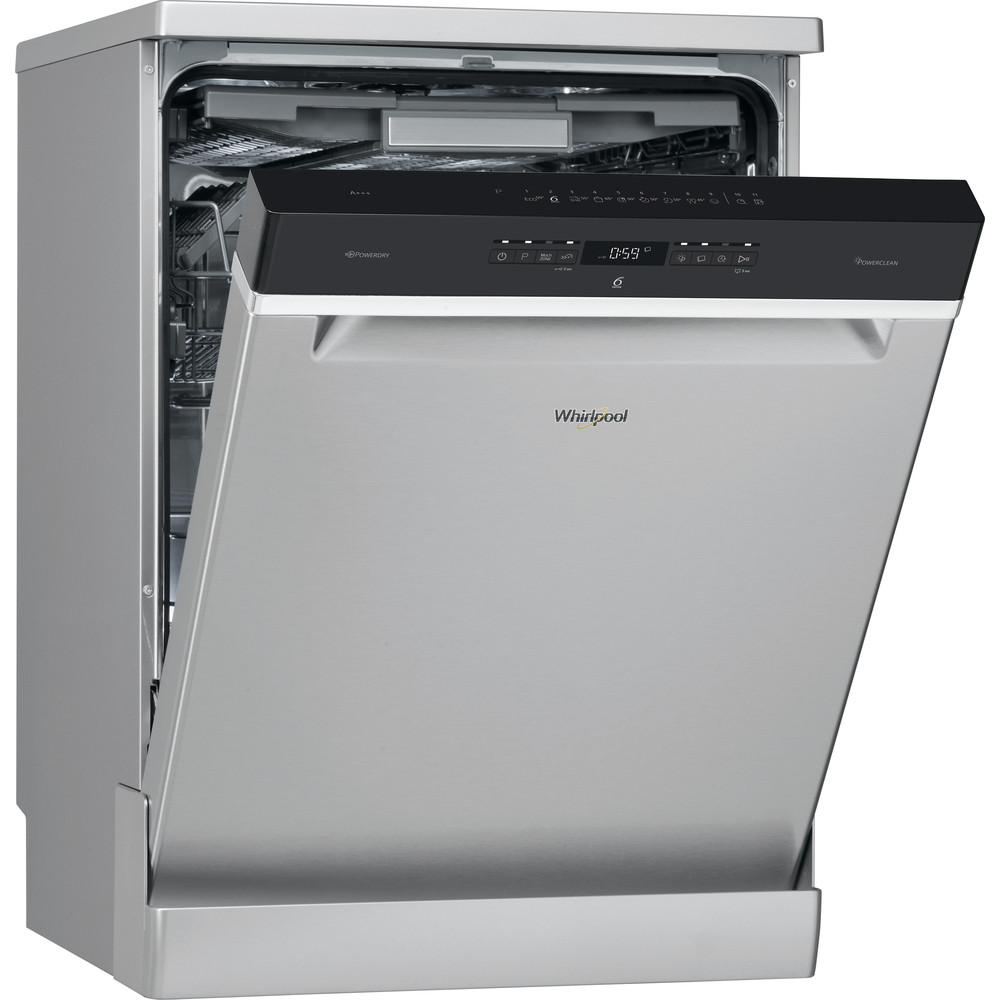 WFO3P33DLX Whirlpool SupremeClean WFO 3P33 DL X Dishwasher A+++ 14 place - Stainless Steel