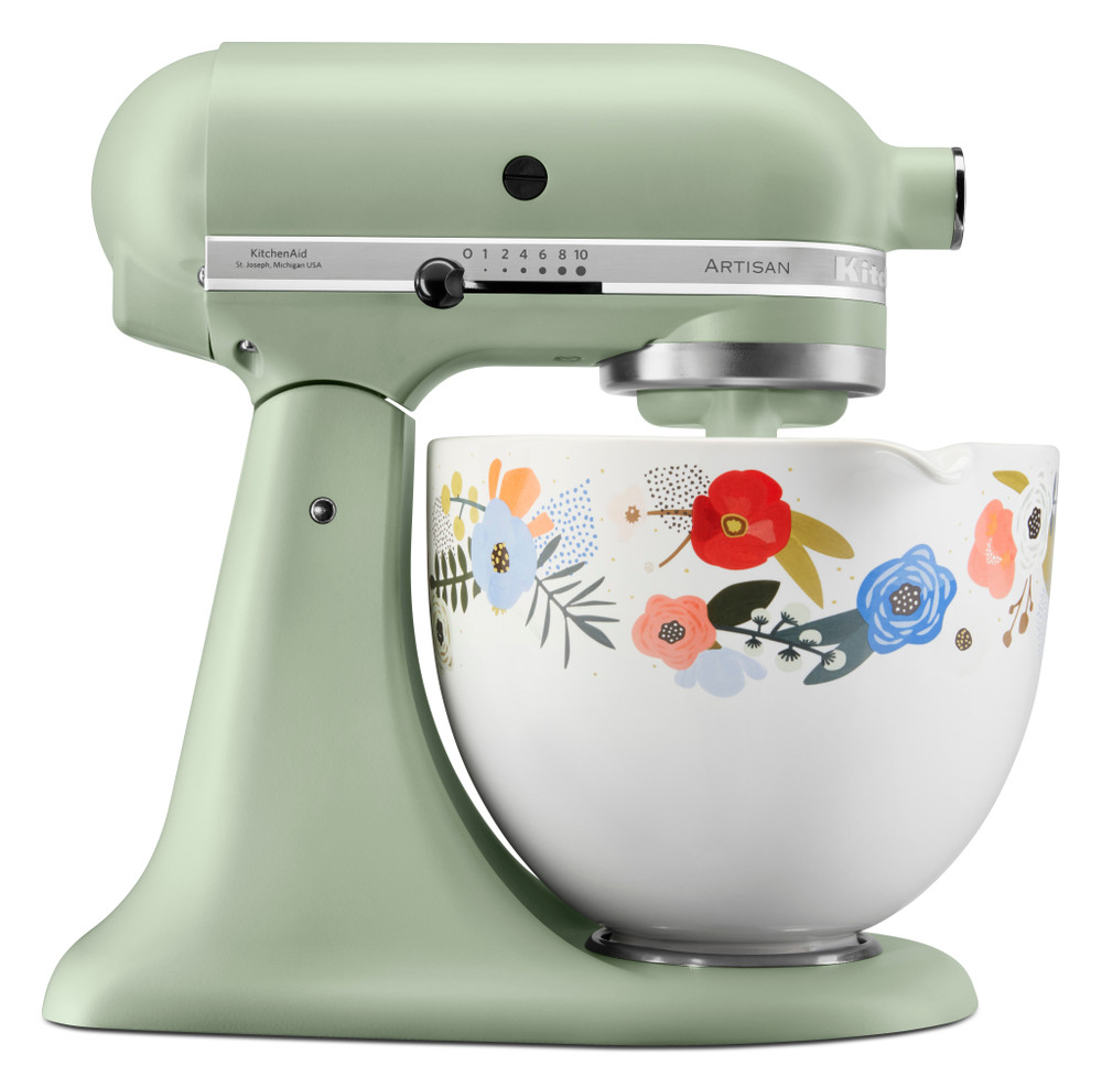 4 8 L Limited Edition Spring Floral Stand Mixer Artisan 5ksm156sf