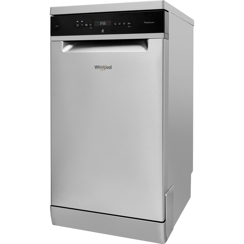 WSFO3T223PCX Whirlpool SupremeClean WSFO 3T223 PC X Dishwasher A++ 10 place - Stainless Steel
