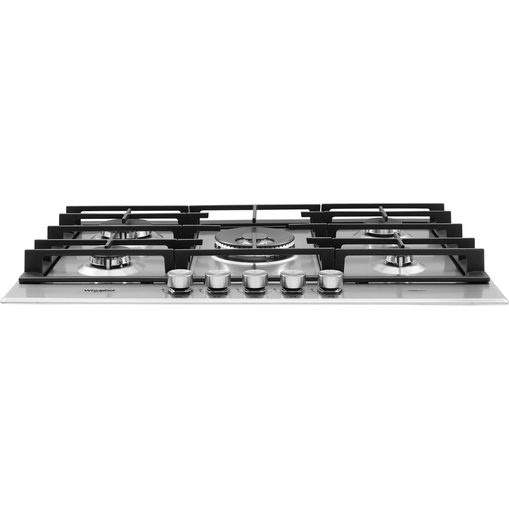 Whirlpool GMW 7552/IXL Gas Hob 5 Burners 75cm - Stainless Steel