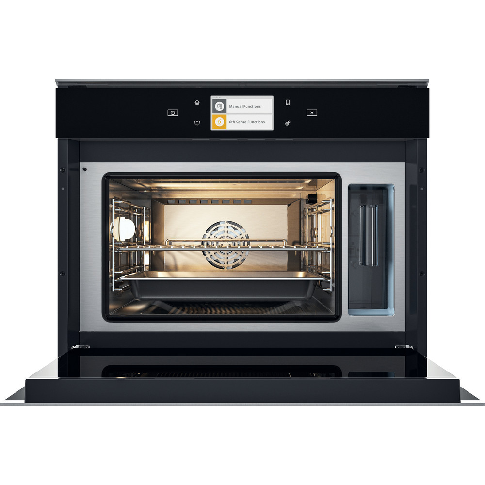 Whirlpool W Collection W11I MS180 UK Built-In Electric Oven - Dark Grey