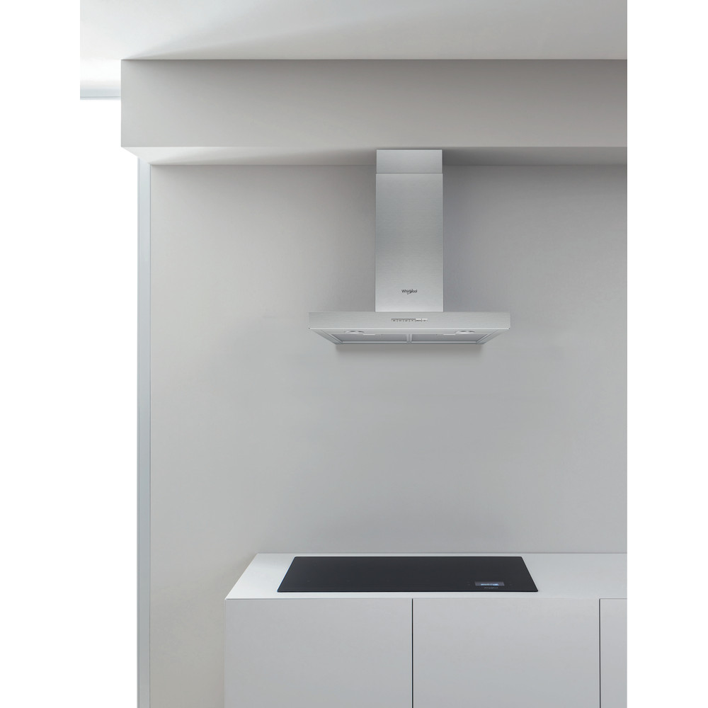 Whirlpool WHBS 63 F LE X Wall Mounted Cooker Hood 60cm - Stainless Steel