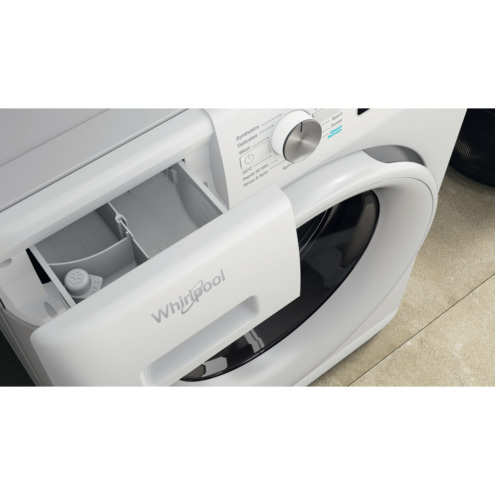Whirlpool FreshCare FFB 7438 WV UK Washing Machine 7kg 1400rpm - White