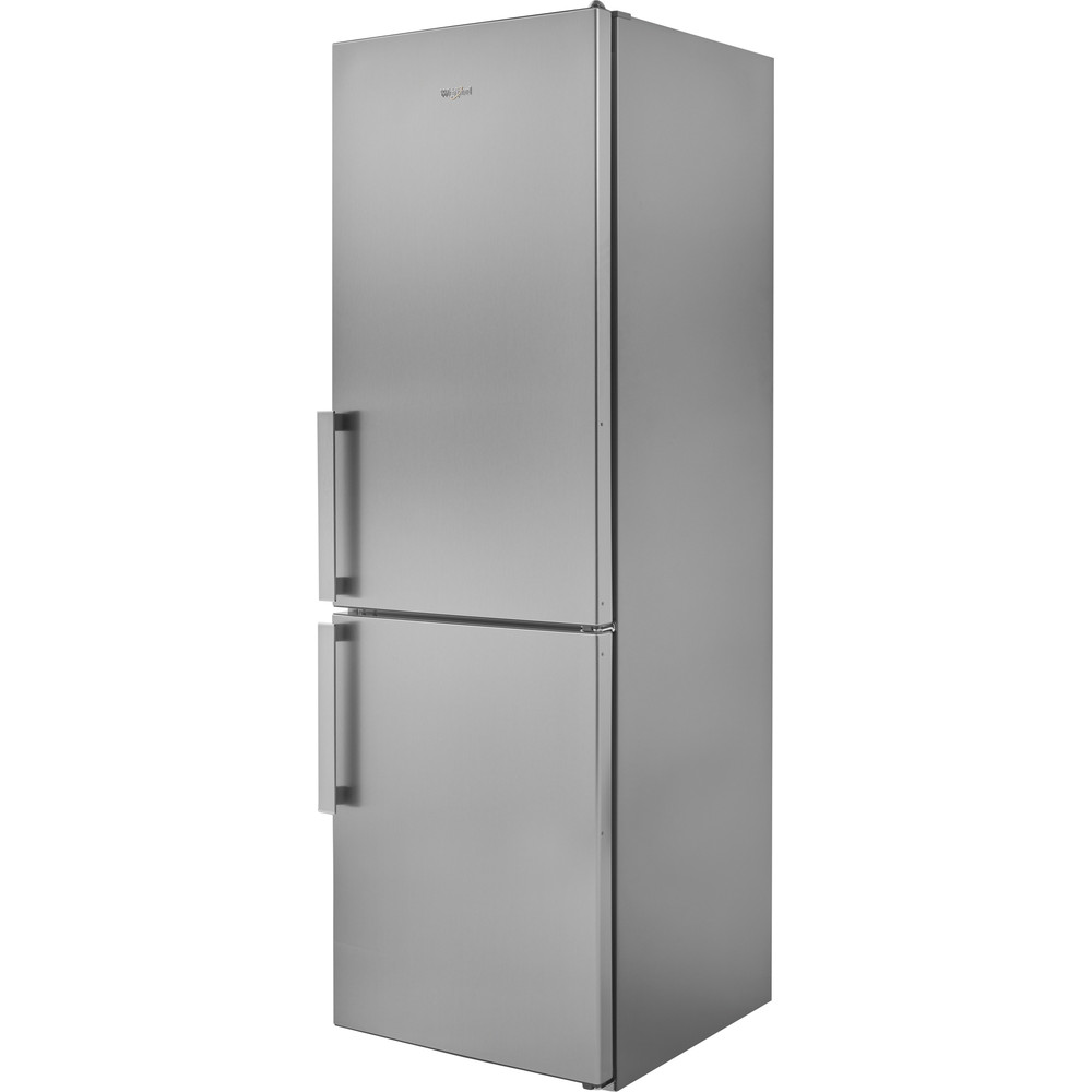 W5811EOX1 Whirlpool W5 811E OX 1 Fridge Freezer 339L - Optic Inox