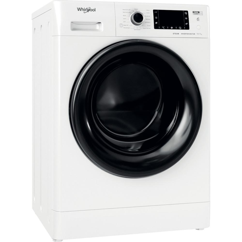 FWDD1071682WBVUKN Whirlpool FFWDD1071682WBV UK N Washer Dryer 10+7kg 1600rpm - White