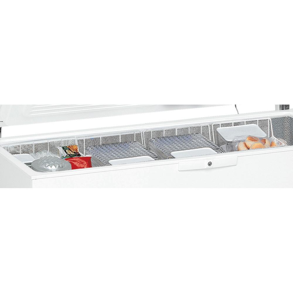 Whirlpool WHM4611.1 Chest Freezer 460L - White