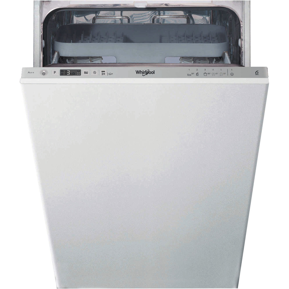 WSIC3M27C Whirlpool WSIC 3M27 C UK Built-in Dishwasher A++ 10 Place