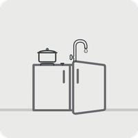 Mini-kjøkken