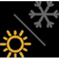 Reversibel kylare/värmare