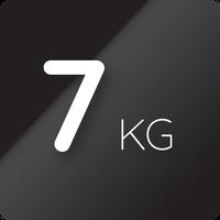 7 kg kapacitás