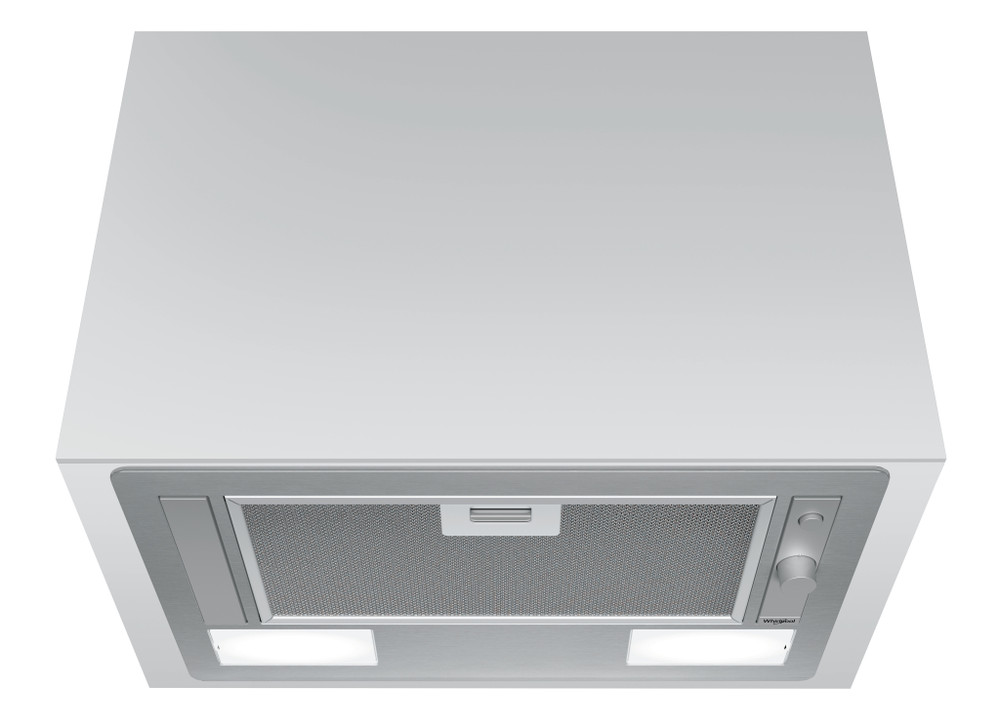 Whirlpool Páraelszívó Beépíthető WCT 64 FLY X Inox Beépíthető Nyomógombos kezelés Frontal