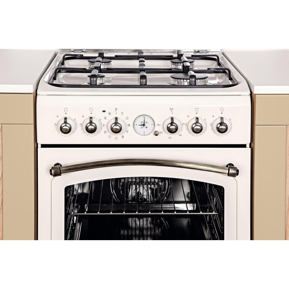 Indesit Cucina con forno a doppia cavità IS5G1MMJ/E Jasmine GAS Lifestyle control panel