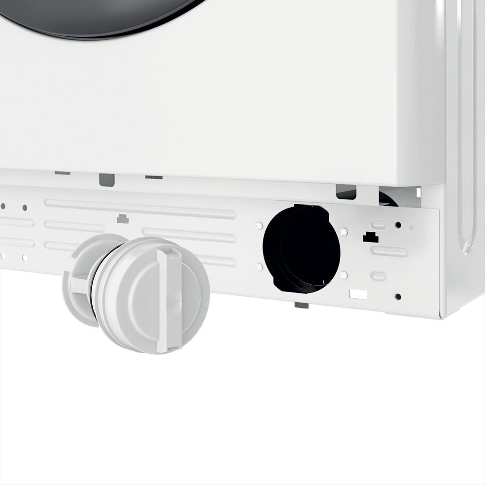 Indsit Maşină de spălat rufe Independent MTWE 71252 WK EE Alb Încărcare frontală A +++ Filter