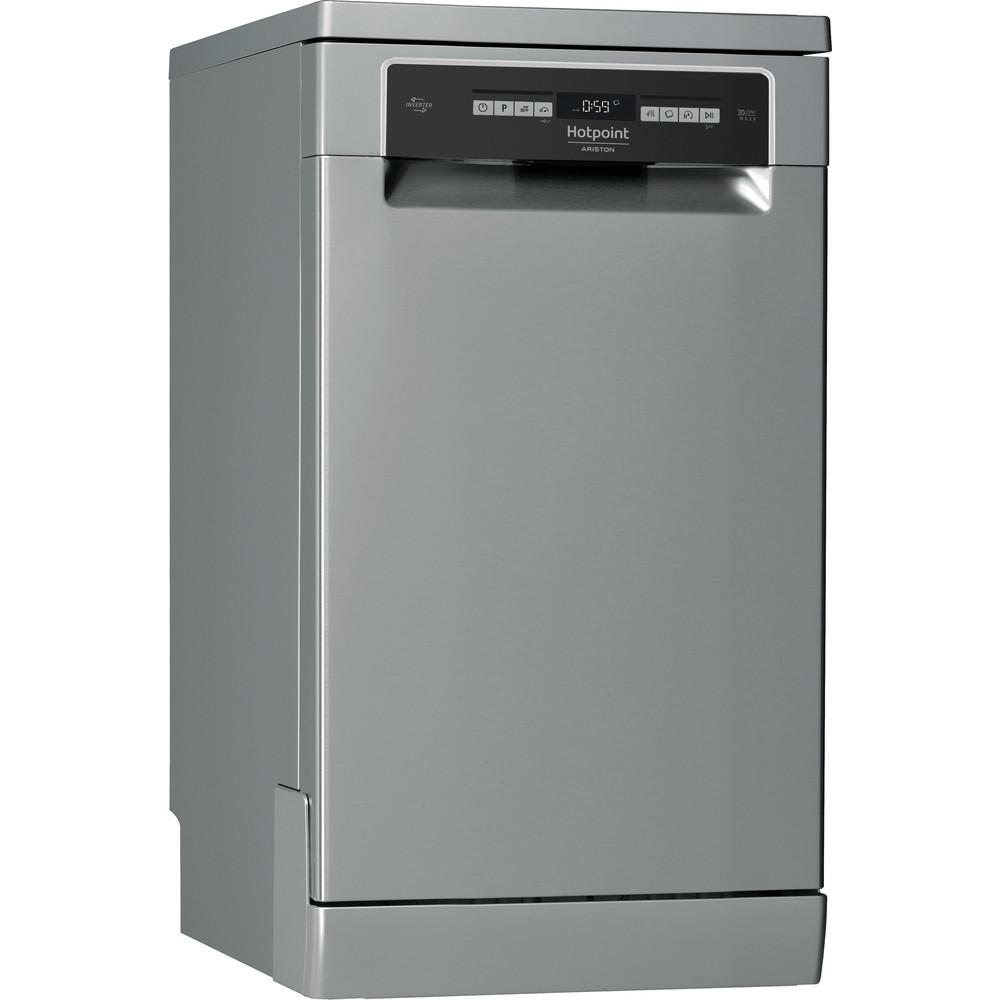 Hotpoint_Ariston Посудомоечная машина Отдельностоящий HSFO 3T223 WC X Отдельностоящий A Perspective