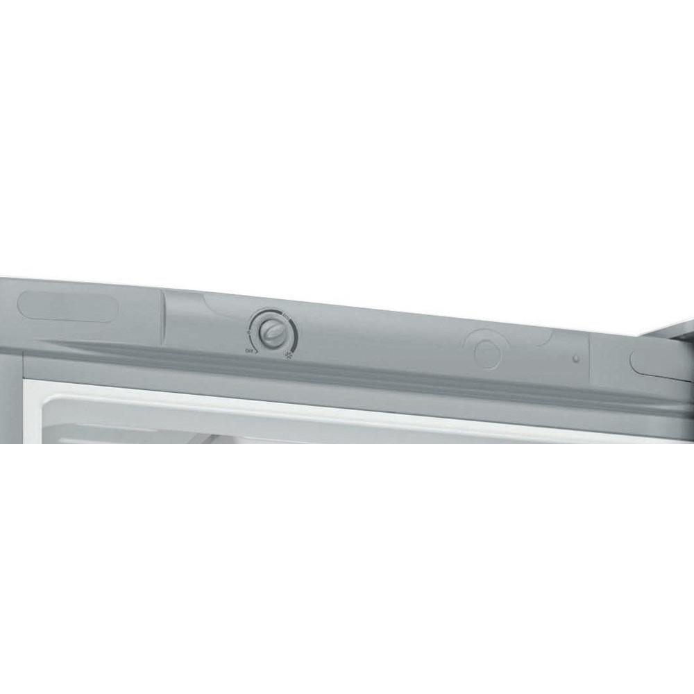 Indesit Холодильник с морозильной камерой Отдельностоящий DS 4180 SB Серебристый 2 doors Control panel