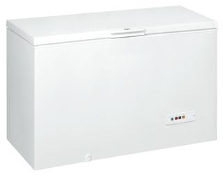 Fritstående Whirlpool-kummefryser: hvid farve - WHM4600 2