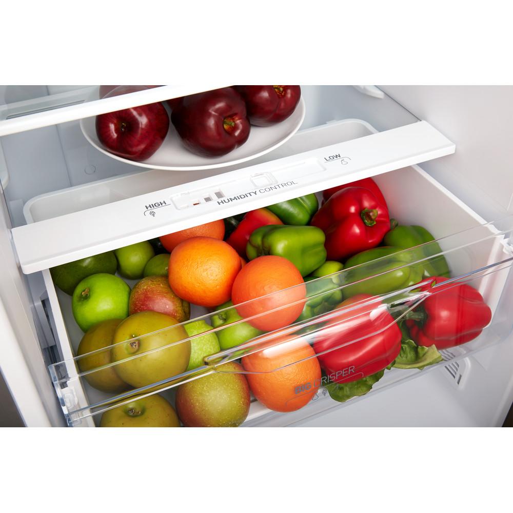 Indesit Συνδυασμός ψυγείου/καταψύκτη Ελεύθερο XIT9 T3U X Inox 2 doors Drawer