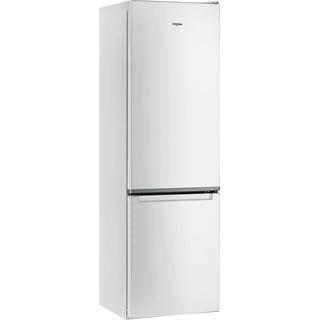 Whirlpool Kombinētais ledusskapis/saldētava Brīvi stāvošs W7 931A W Spilgti balta 2 doors Perspective
