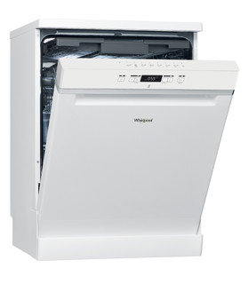 Whirlpool dishwasher: white color, full size - WFC 3C26 F