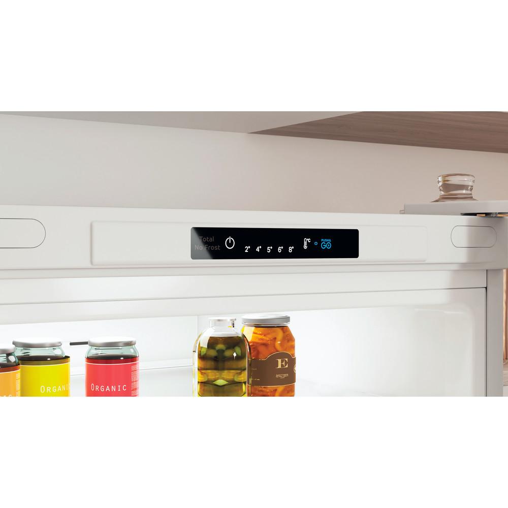 """""""Indesit"""" Šaldytuvo / šaldiklio kombinacija Laisvai pastatoma INFC8 TI21W Balta 2 doors Lifestyle control panel"""