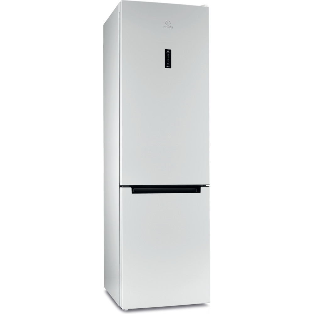 Indesit Холодильник с морозильной камерой Отдельностоящий DFN 20 D Белый 2 doors Perspective