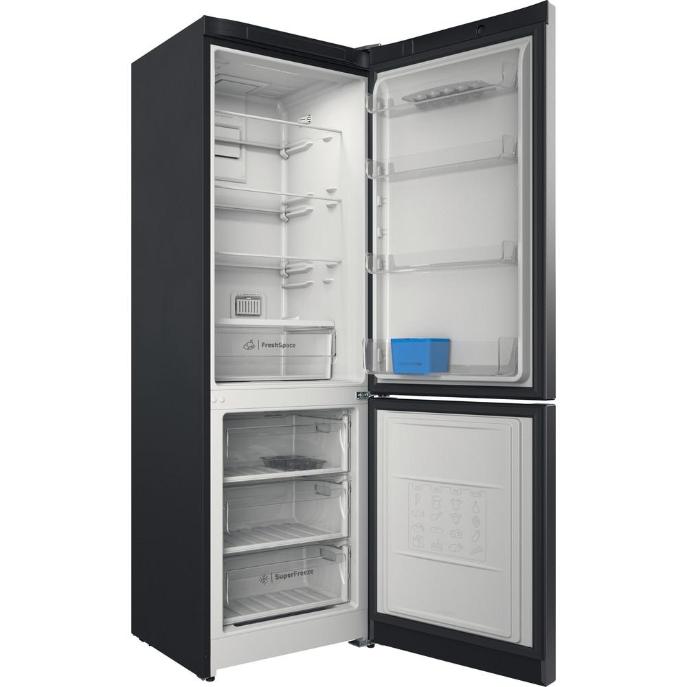 Indesit Холодильник з нижньою морозильною камерою. Соло ITI 5181 S UA Сріблястий 2 двері Perspective open