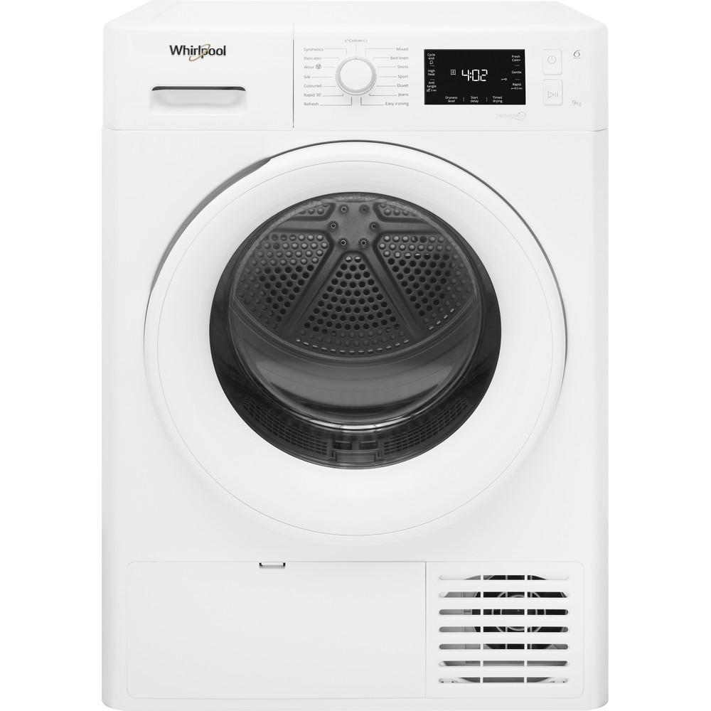 Whirlpool Heat Pump Tumble Dryer: Freestanding, 9kg - FT M22 9X2 UK