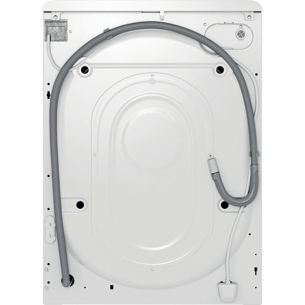 Indesit Wasmachine Vrijstaand MTWE 71483 WK EE Wit Voorlader A+++ Back / Lateral
