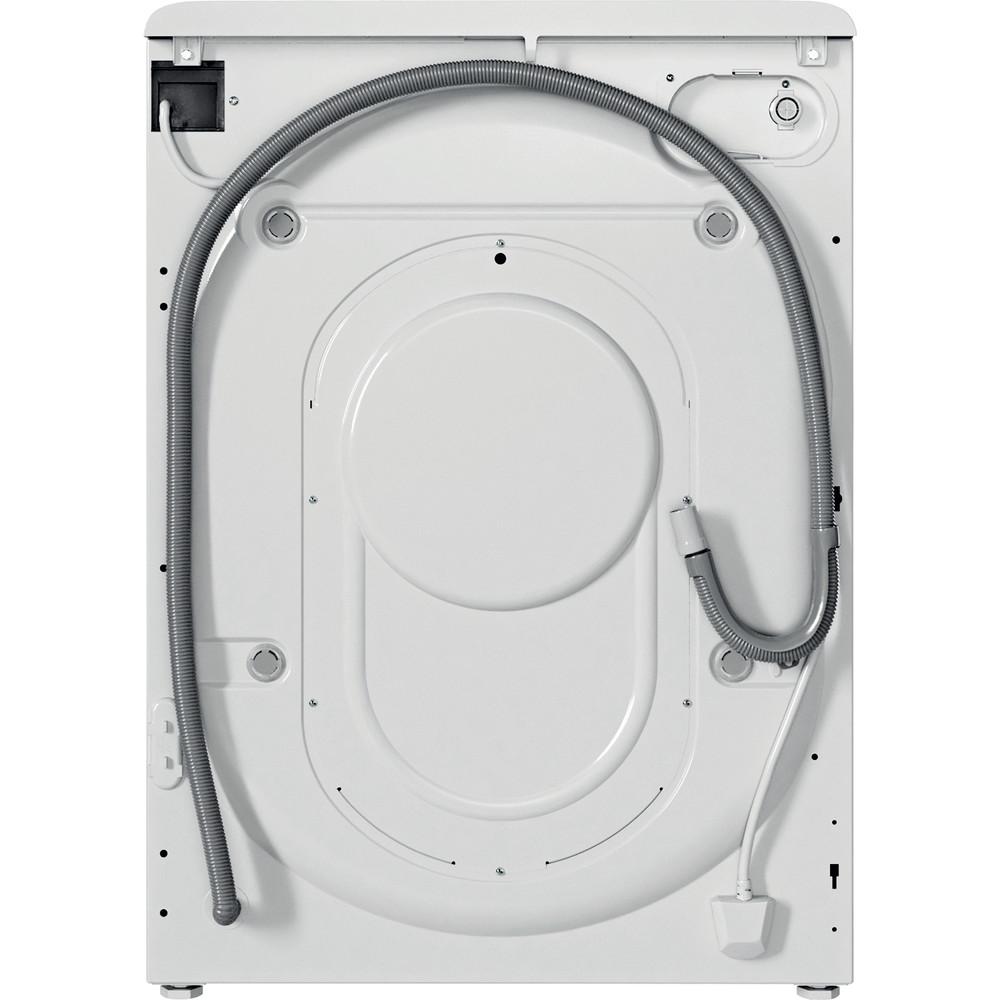 Indesit Perilica i sušilica Samostojeći BDE 761483X WS EE N Bijela Prednje punjenje Back / Lateral