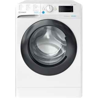 Indesit Lave-linge Pose-libre BWEBE 101683X WK N Blanc Frontal D Frontal