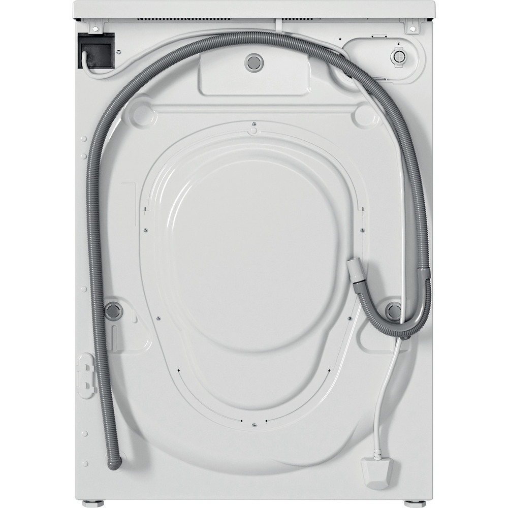 Indesit Washing machine Free-standing IWC 81483 W UK N White Front loader D Back / Lateral