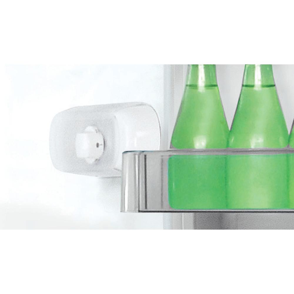 Indesit Réfrigérateur combiné Pose-libre LR8 S2 K B Noir 2 portes Control panel