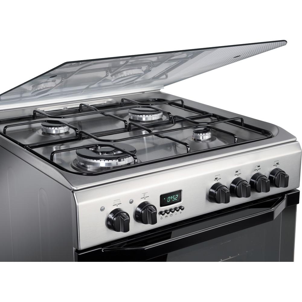 Indesit Cucina con forno a doppia cavità I6TMH2AF(X)/I Inox GAS Heating element